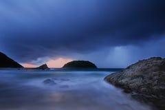 Tempestade da chuva Foto de Stock Royalty Free