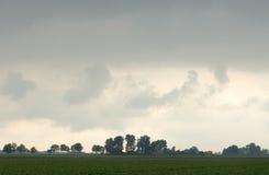 Tempestade da fabricação de cerveja Fotos de Stock Royalty Free