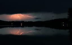 Tempestade da noite Fotografia de Stock Royalty Free