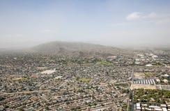 Tempestade da poeira Fotografia de Stock Royalty Free
