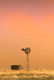 Tempestade da poeira Foto de Stock