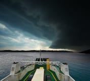 Tempestade de aproximação Fotografia de Stock