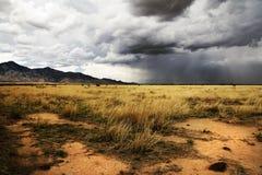 Tempestade de aproximação da monção no sudoeste americano Imagem de Stock