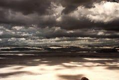 Tempestade de deserto fotografia de stock royalty free