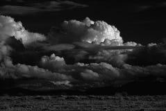 Tempestade de deserto imagem de stock