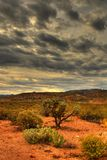 Tempestade de deserto que aproxima 23 Fotografia de Stock Royalty Free