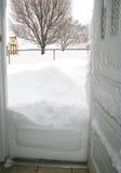 Tempestade de fevereiro 2010 Fotografia de Stock