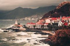 Tempestade de Madeira imagens de stock royalty free