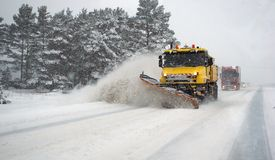 Tempestade de neve fotografia de stock royalty free