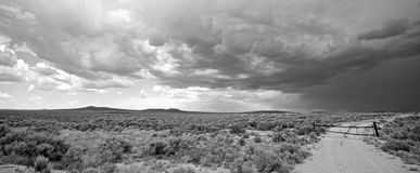 Tempestade de New mexico foto de stock royalty free
