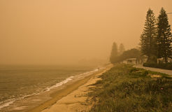 Tempestade de poeira Foto de Stock