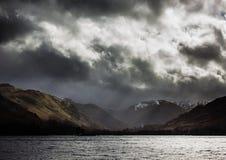 Tempestade de Ullswater Foto de Stock Royalty Free