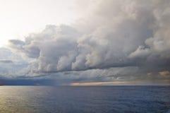 Tempestade de vinda Imagem de Stock