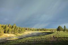 A tempestade de vinda Imagem de Stock Royalty Free