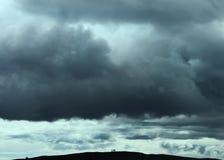 A tempestade de vinda Fotografia de Stock