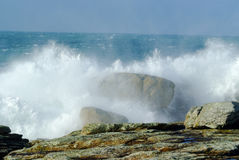 Tempestade do mar Fotos de Stock