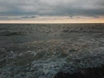 Tempestade do mar Fotografia de Stock Royalty Free