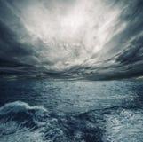 Tempestade do oceano fotos de stock royalty free