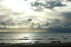Tempestade do oceano Fotos de Stock
