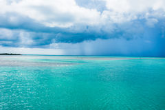 Tempestade 4 do oceano fotografia de stock royalty free