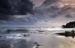 Tempestade do outono Imagens de Stock Royalty Free