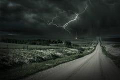 Tempestade do país Fotografia de Stock