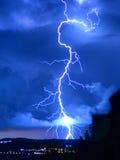 Tempestade do relâmpago Imagens de Stock Royalty Free