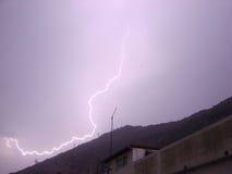 Tempestade do relâmpago Foto de Stock