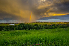 Tempestade do verão Imagem de Stock
