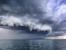 Tempestade do verão fotos de stock royalty free