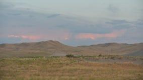 Tempestade do verão sobre as montanhas Imagens de Stock