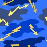 Tempestade dos desenhos animados Imagem de Stock