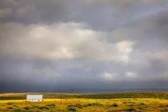 Tempestade dos lagos Waterton imagens de stock