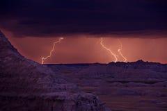 Tempestade dos relâmpagos fotos de stock royalty free
