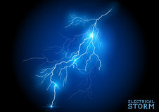 Tempestade elétrica Fotos de Stock Royalty Free
