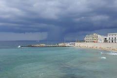 Tempestade entrante Fotografia de Stock