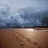 Tempestade escura Fotos de Stock