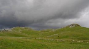 A tempestade está vindo Fotos de Stock Royalty Free