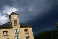 A tempestade está vindo Foto de Stock