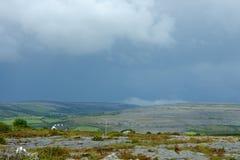 Tempestade litoral Foto de Stock