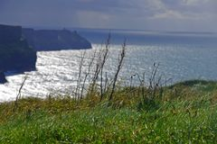 Tempestade litoral Fotografia de Stock Royalty Free