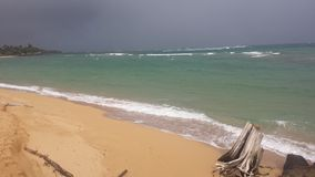 Tempestade na distância Fotos de Stock Royalty Free