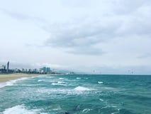 Tempestade na maneira Fotografia de Stock Royalty Free
