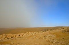 Tempestade no deserto Imagem de Stock Royalty Free