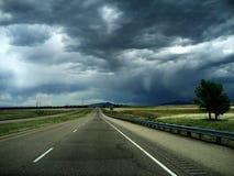 Tempestade no horizonte   Foto de Stock Royalty Free