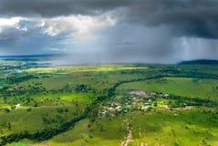 Tempestade no horizonte Imagens de Stock Royalty Free