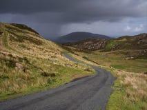 Tempestade no horizonte Imagem de Stock Royalty Free