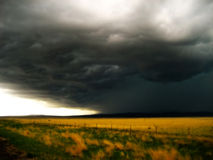 Tempestade no horizonte V1 Imagens de Stock