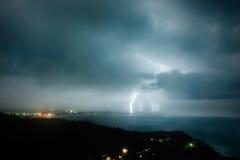 Tempestade no mar Imagem de Stock Royalty Free