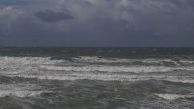 Tempestade no mar Báltico vídeos de arquivo